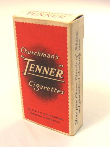 SCALA 1:12 Vuoto Rosso tenner 10 pacchetto sigarette tumdee Casa delle Bambole in Miniatura