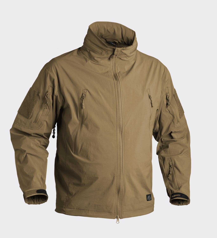 Medio de los coyote  M de chaqueta del chaqueta de SoftShell HELIKON TEX soldado ligero al aire libre  bienvenido a comprar