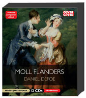 Moll Flanders By Daniel Defoe 12 Cds Unabridged 50%off