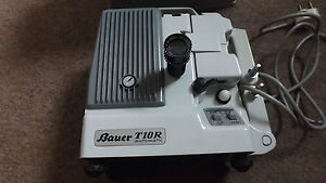 VINTAGE-BAUER-T10R-AUTOMATIC-Super-8-Film-Projector-WITH-PROTECTIVE-CASE