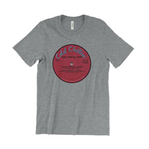 Cold Chillin/' Old School Hip Hop Marley Marl Biz Juice Crew All Stars T Shirt