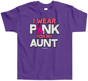 Crawling For the Cure Kids Toddler T-Shirt Tee Breast Cancer Awareness Month