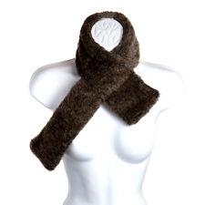 Pia Rossini Tatiana Ladies Faux Fur Collar Scarf Neck Winter Stole Collar Mink