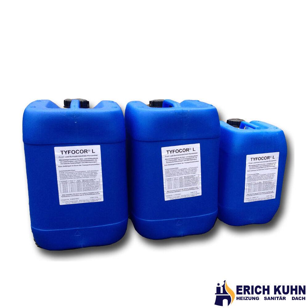 Tyfocor L Konzentrat 50 Liter Frostschutzmittel Solarflüssigkeit Sole Solarfluid