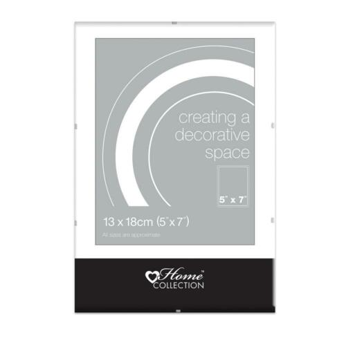 """Pack of 36 7x5/"""" Glass Clip Frames by Home Collection 13x18cm"""