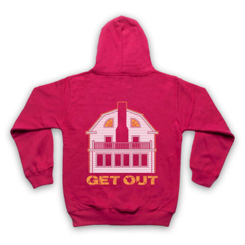 AMITYVILLE HOUSE UNOFFICIAL GET OUT HORROR MOVIE FILM ADULTS /& KIDS HOODIE