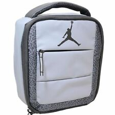 7cf7f02988 Nike Air Jordan Insulated Tote Lunch Box bag Wolf Grey black 9a1728 ...