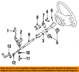image is loading ford-oem-96-97-aerostar-steering-column-gearshift-