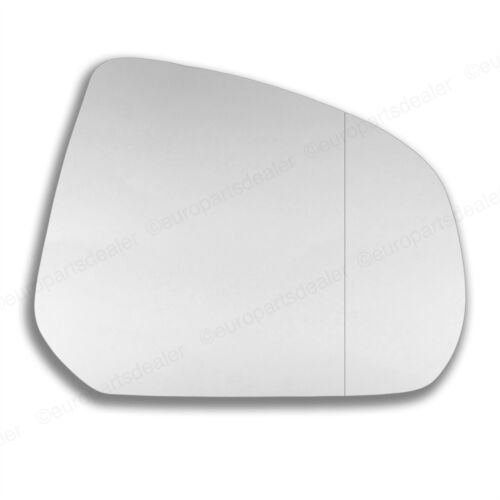 Right side Wing door mirror glass for Suzuki Alto 2009-2014 stick on Wide Angle