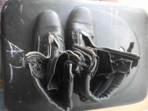 8 Goth {01040} Boots Size Steampunk uomo Zip Redback ZgXUqnAn