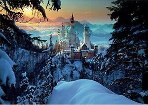 """Puzzles 1000 pieces 48*68 cm """"Bavaria. Neuschwanstein Castle"""". Step Puzzle 79103"""