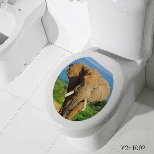 Bathroom Restroom Toilet Seat Door Sign Art Vinyl Home Decor Wall Sticker Decal