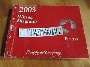 2003 Ford Focus Wiring Diagrams Manual Oem Ebay