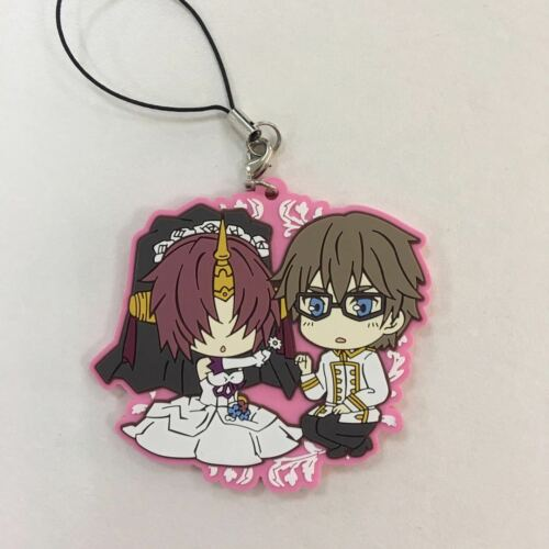 T1381 Anime Game Fate//Grand Order Rubber Straps Keychain KeyRing Race Cosplay