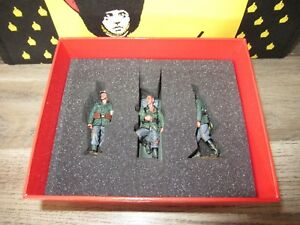 Boite King & Country Neuf = Ws276 - Brancardiers Blesse Allemand Ww2