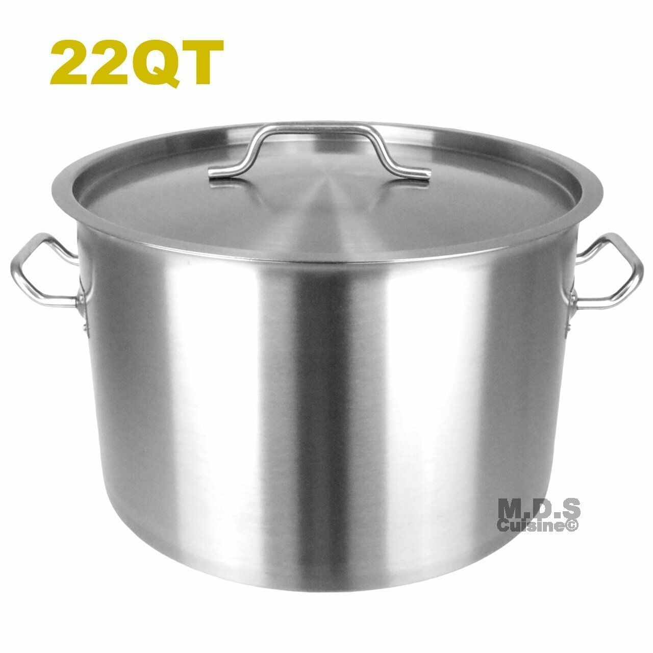 Dutch Oven Pot 22 QT Heavy Duty capsulated Bas avec Couvercle Traditionnelle Olla...