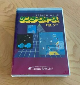 Thunder Force Original Japanese Fm 7 77 Computer Game Boxed Tested Ebay