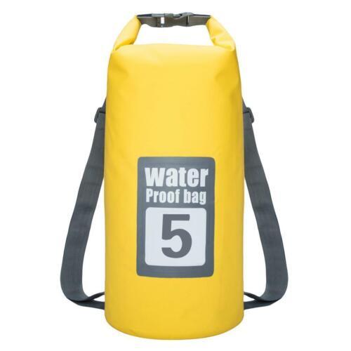 5L 10L 15L 20L 30L Wasserdichter Packsack Wandern Kajak Trockensack Rucksack