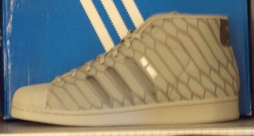 MENS ADIDAS PRO MODEL in colors LT ONIX / SUPCOL / FTW WHITE SIZE 12 Great discount
