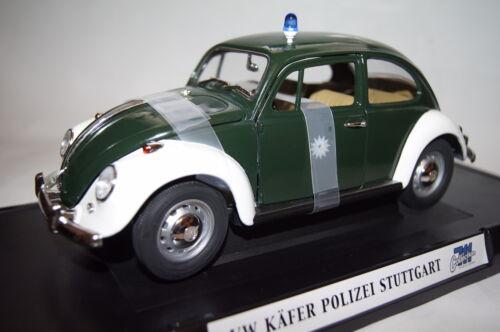 VW Escarabajo policía stuttgart 1:18 Collection 711 nuevo con embalaje original 71101pc