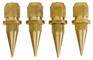 DYNAVOX-Noisekiller-4er-Set-Messing-Spikes-verstellbar-von-27-40-mm