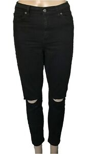 """wide range low price sale best cheap Details about Topshop Black Ripped Jamie Skinny Jeans High Rise Ankle Size  30 Inseam 26"""""""
