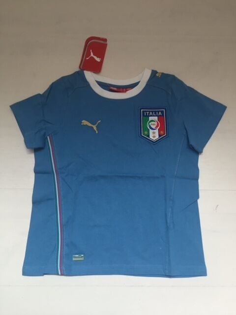 6d19e3dee01 10168 ITALY PUMA T-SHIRT JERSEY JUNIOR TEE SHIRT CONFEDERATIONS CUP ...