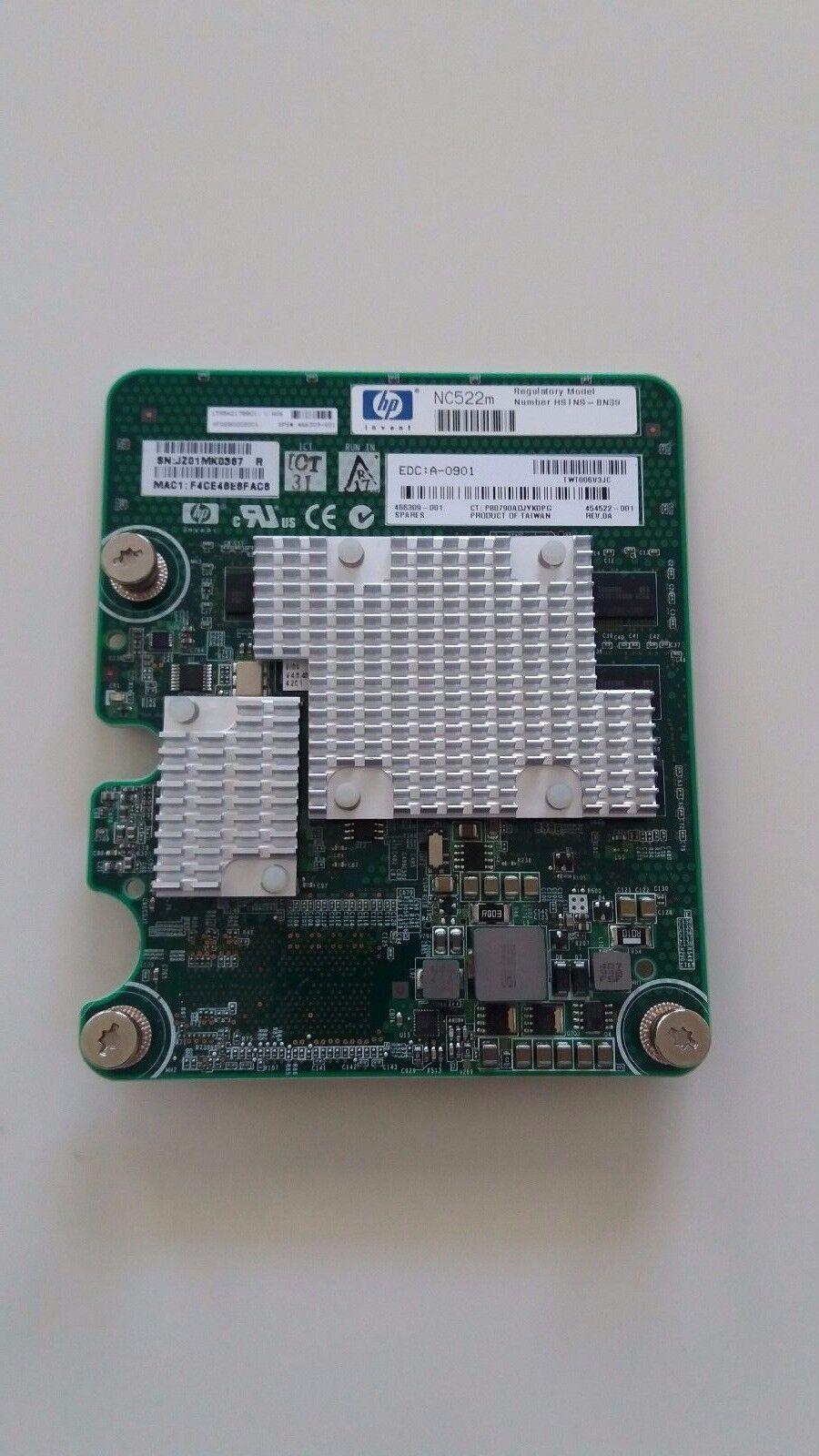 HP 466309-001 NC522M Dual Port Flex-10 10GB BL-C Network Card