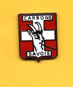 Pin-039-s-lapel-pin-enamel-pins-Societe-CARBONE-Blason-de-la-SAVOIE-CHAMOIS-EGF