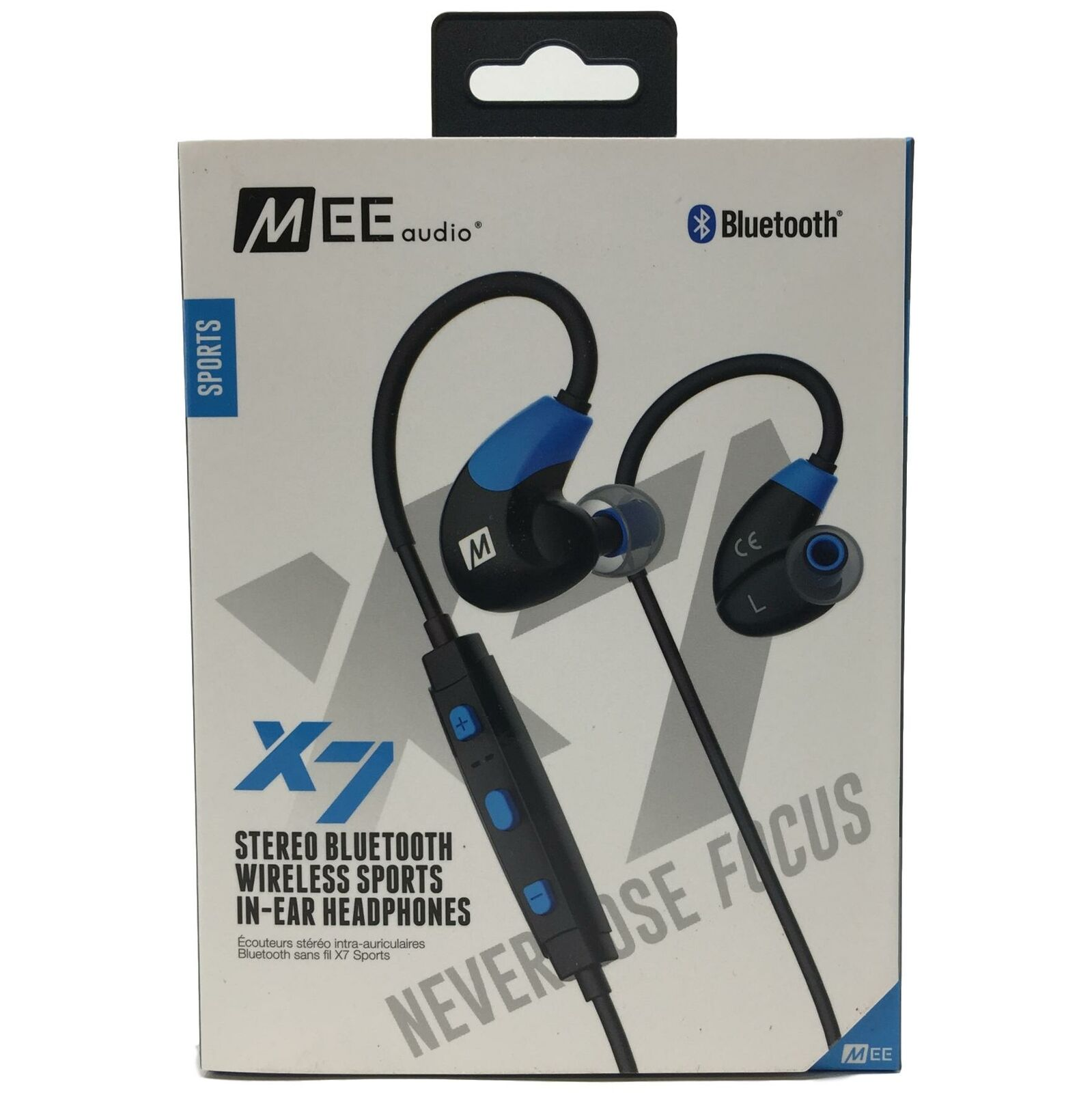 b6f63030bcd Mee Audio X7 Stereo Bluetooth Wireless In-ear Headphones - Blue for ...