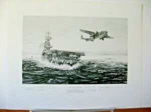 Avenging-Strike-Doolittle-Tokyo-Raiders-B-25-Mitchell-Signed-Aviation-Art-PP