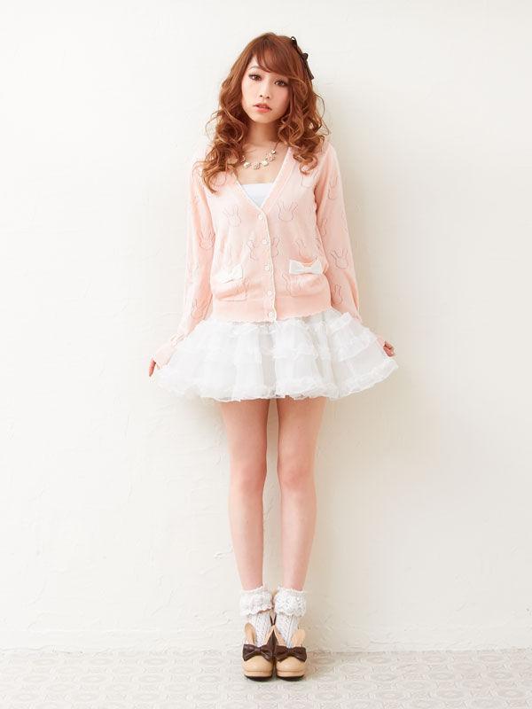 Lolita Gothic Barbie Palace High-heeled Retro Rabbit Ears Bowknot High-heeled Palace Shoes b3e99b
