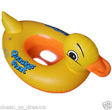Inflatable Kids Baby Toddler Swimming Pool Swim Seat Float Boat Ring UK Stock