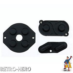 Game-Boy-Classic-Gummi-Pads-Tasten-Knoepfe-Kontakte-Gameboy-Tastengummi-schwarz
