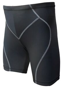 Acclaim A1 Grand 32/34 Compression Running Fitness Short Noir Gris Nylon Lycra-afficher Le Titre D'origine Emballage De Marque NomméE