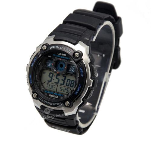 1 of 1 - -Casio AE2000W-1A Digital Watch Brand New & 100% Authentic