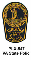 Va State Police (state Police) Embroidered Patches 4