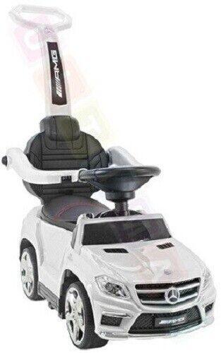Kinderauto, Rutschauto mit Schaukel funktion  Mercedes GL63 AMG SX1578 - Weiß