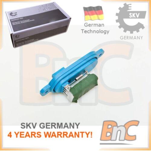 # GENUINE SKV GERMANY HEAVY DUTY INTERIOR BLOWER RESISTOR FIAT