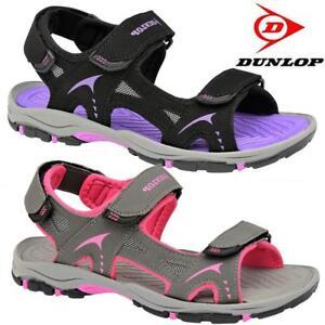 Ladies-Womens-Summer-Sandals-Dunlop-Sports-Hiking-Walking-Trekking-Beach-Shoes