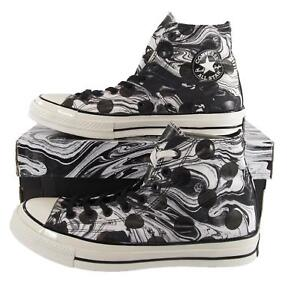 f819dbf3d5298 Converse Chuck Taylor All Star 70 Hi Suminagashi Art BLACK WHITE ...