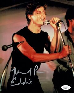 MICHAEL-PARE-Signed-8x10-EDDIE-amp-THE-CRUISERS-Photo-PARE-Autograph-JSA-COA-Cert