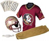 Florida State Seminoles Youth Uniform Set Kid Medium Ncaa College Jersey Helmet on Sale