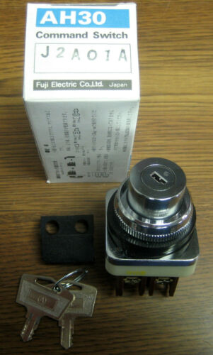 FUJI AH30 J2A01A Key Operated Selector Switch