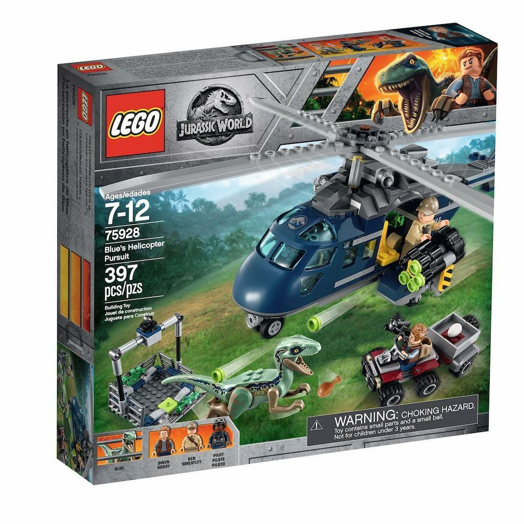 LEGO LEGO LEGO Jurassic World Dinosaur - bluee's Helicopter Pursuit - 75928 b1ed8f