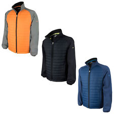 Benross Mens Pro Shell Jacket - New Hybrid Warm Padded Insulated Golf Coat Top