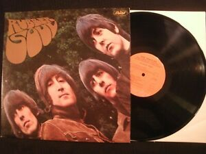 BEATLES-Rubber-Soul-1976-Capitol-Vinyl-12-039-039-Lp-VG-Prog-Psych-Rock-AOR