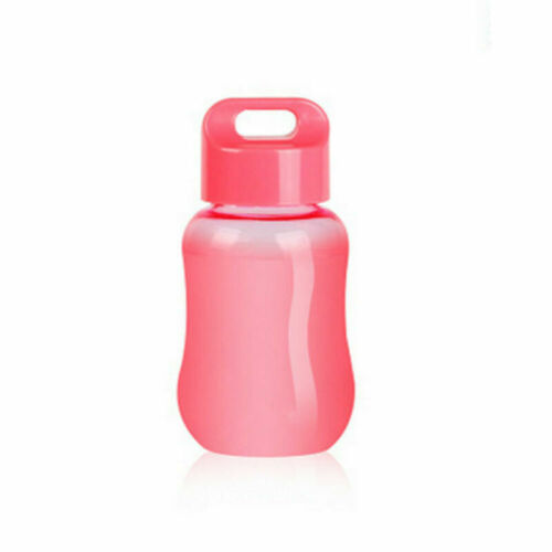 Mini Water Bottle Travel Mugs with Rope Wide Mouth Portable Sports Water Cup