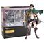 thumbnail 9 - Attack on Titan Action Figure Eren Mikasa Ackerman Levi Rivaille Figma PVC 13CM