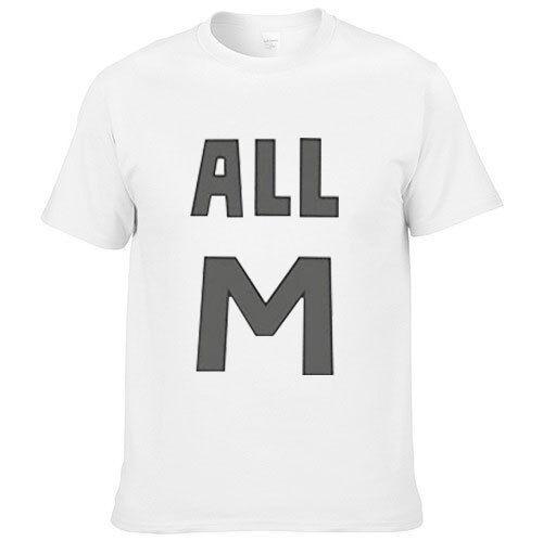 My Hero Academia All Mighty White T-Shirt COSPLAY Costume Casual Men Tee Unisex